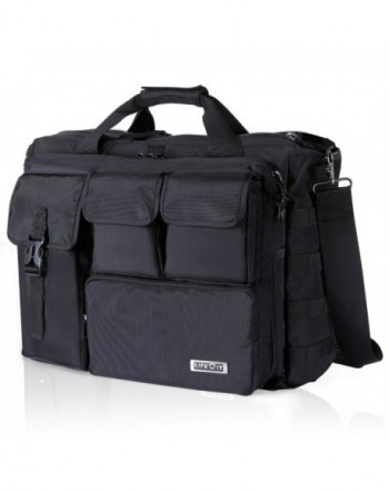 Lifewit Military Messenger Multifunction Briefcase