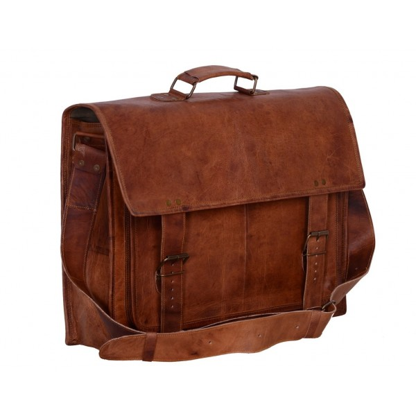 Komals Passion Leather Sturdy Messenger