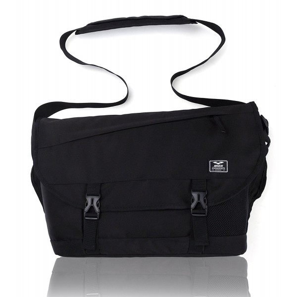 Classic Messenger Bag Men Laptop Shoulder Bag for School Travel ... 995dce6797ea8