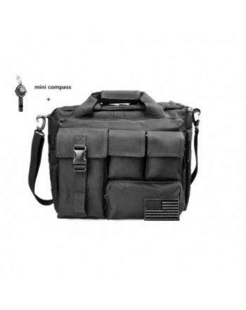 BROS Multifunction Shoulder Messenger Briefcase