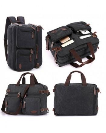 Vintage Backpack Messenger Convertible Briefcase