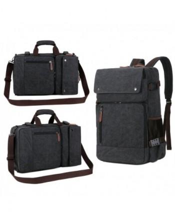 Multifunction Briefcase Rucksack Messenger Convertible