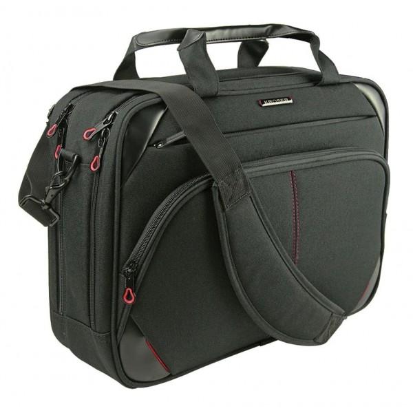 KROSER Briefcase Messenger Repellent Men Black