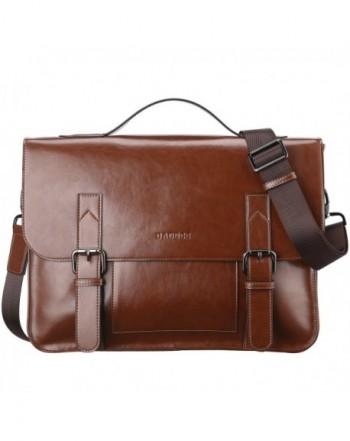 Banuce Vintage Briefcase Shoulder Messenger