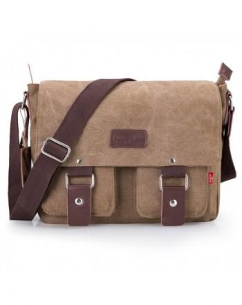 18b8ad477a05 Bienna Vintage Messenger Shoulder Crossbody. Men Messenger Bags