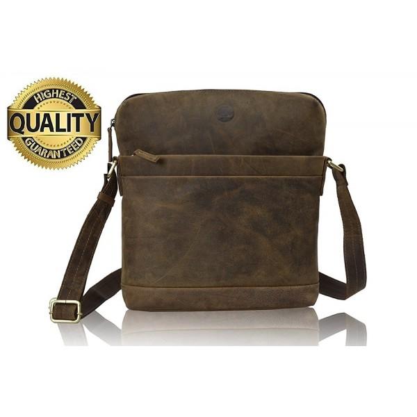 Natural Leather Satchel vintage leather