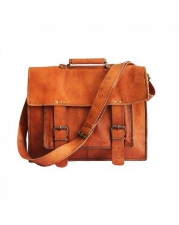 Inches Leather Cross body Messenger Laptop