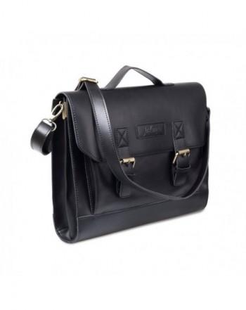 JAKAGO Leather Briefcase Shoulder Messenger