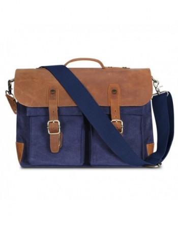 Messenger Plambag Leather Briefcase Crossbody