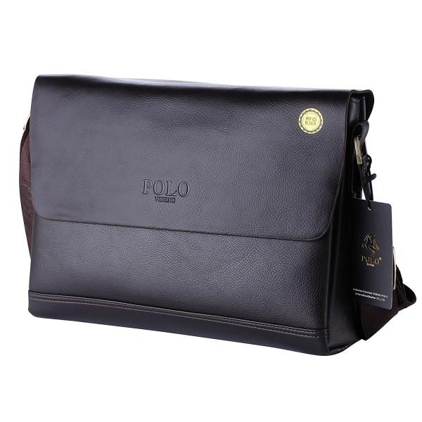 Briefcase Shoulder Messenger Business cr black