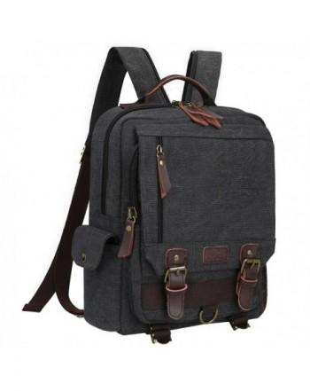 S ZONE Messenger Shoulder Backpack Gray Zipper