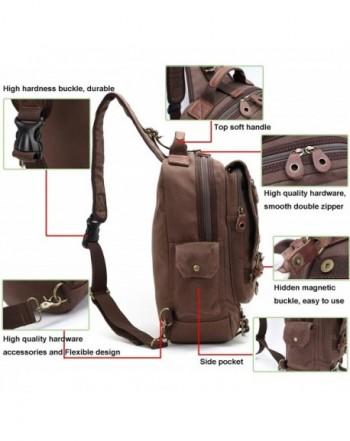 Canvas Messenger Shoulder Backpack 13 inch. Men Messenger Bags