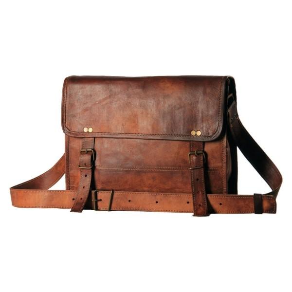 Aditya Leather Messenger Briefcase Satchel