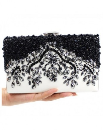 Black Beaded Clutch Purses Evening