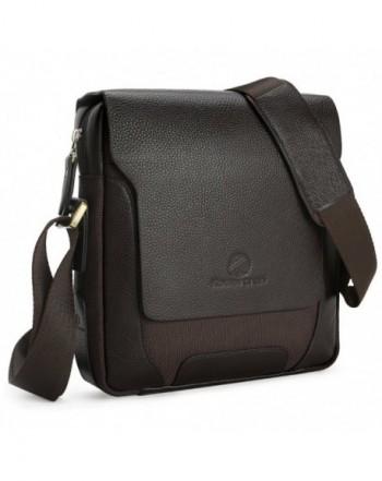 Koolertron Mens Leather Shoulder Bag Handbags Briefcase for the Office...