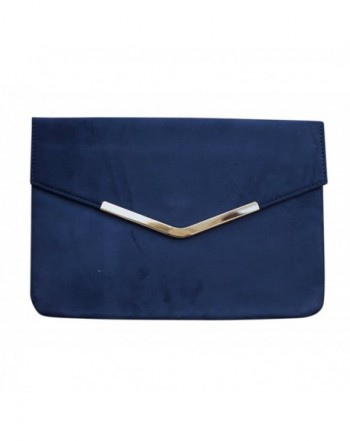 Chicastic Suede Envelope Clutch Purse