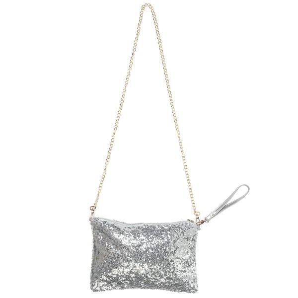 OULII Fashion Glitter Handbag Shoulder