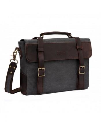 Vaschy Messenger Shoulder Business Briefcase