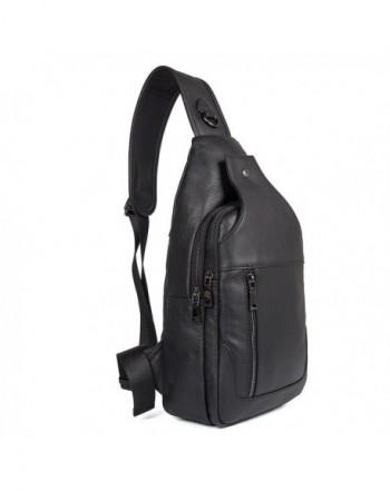Texbo Genuine Leather Backpack Daypacks