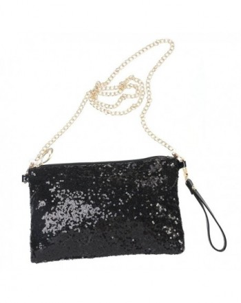 LUOEM Glitter Handbag Shoulder Evening