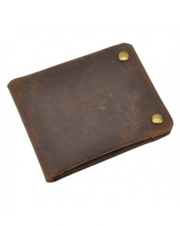 Leaokuu Genuine Leather Cowhide Bifold