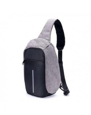 Zakezoon Sling Crossbody Shoulder Backpack