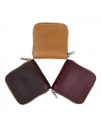 Abahub Leather Holder Small Zipper