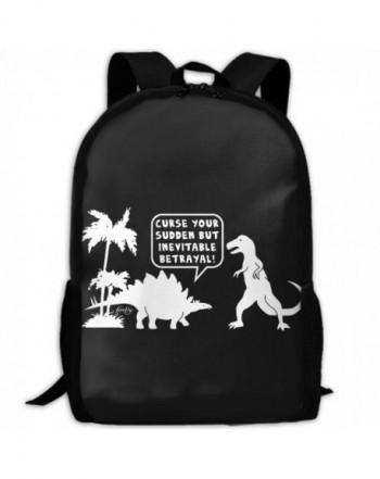 Dinosaur Firefly Shoulder Backpacks Traveling
