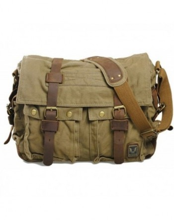 Vintage Colonial Military Backpacks Messager
