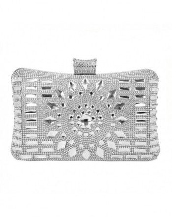 Rhinestone Diamante Evening Wedding Handbag