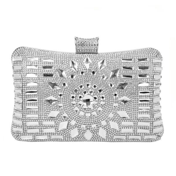 Rhinestone Diamante Evening Wedding Handbag
