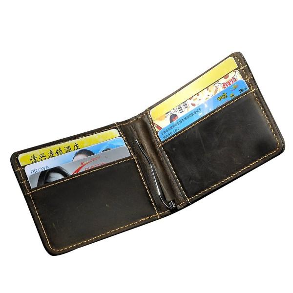 Leaokuu Genuine Leather Bifold Credit
