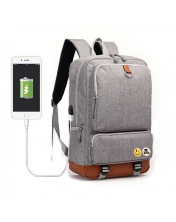 Fanmaous Backpack Compartment Notebook Shoulder