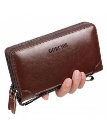 SIZUKU Capacity Handbag Clutch Wallet