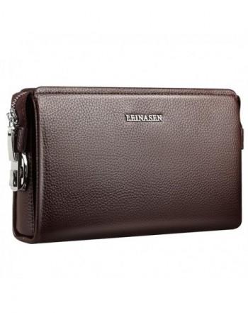 Genuine Leather Clutch Cowhide Wallets