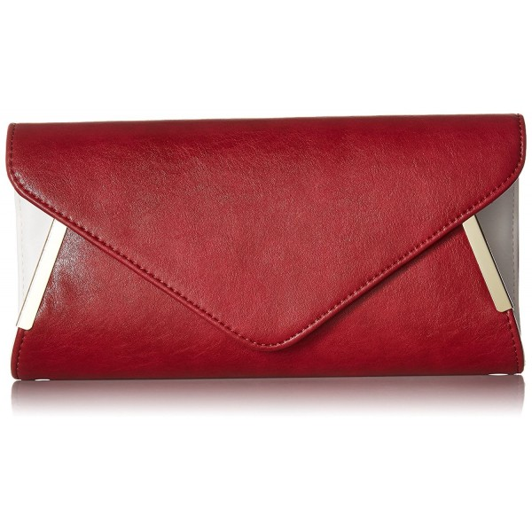 Leather Envelope Crossbody Detachable Shoulder