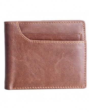 Aojiao Wallets Blocking Vintage Genuine