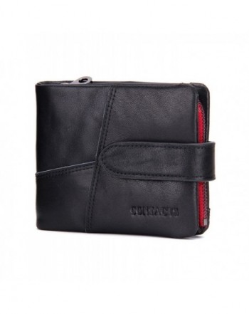 Contacts Genuine Leather Pocket Trifold