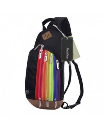 FakeFace Multipurpose Shoulder Messenger Backpack