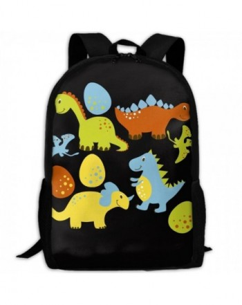 Cartoon Dinosaur Shoulder Backpacks Traveling