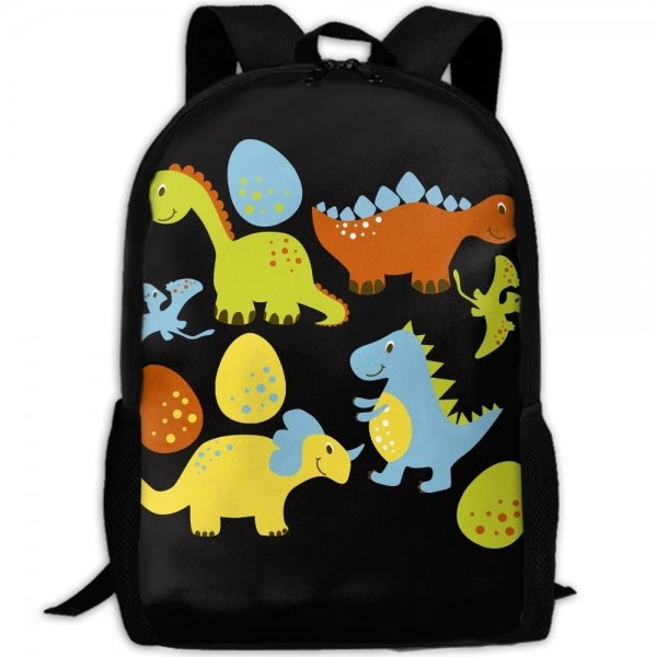 Cartoon Dinosaur Shoulder Backpacks Traveling