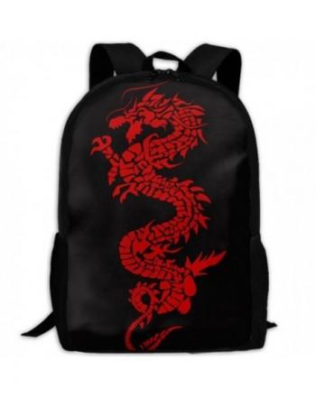 Dragon Shoulder Backpacks Traveling Fashion