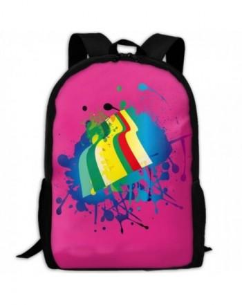 Colourful Rainbow Shoulder Backpacks Traveling