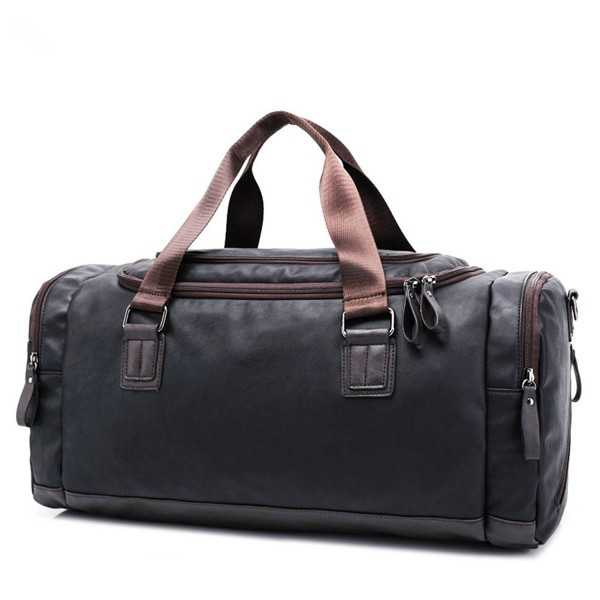 Toupons Fashion Leather Luggage Weekend