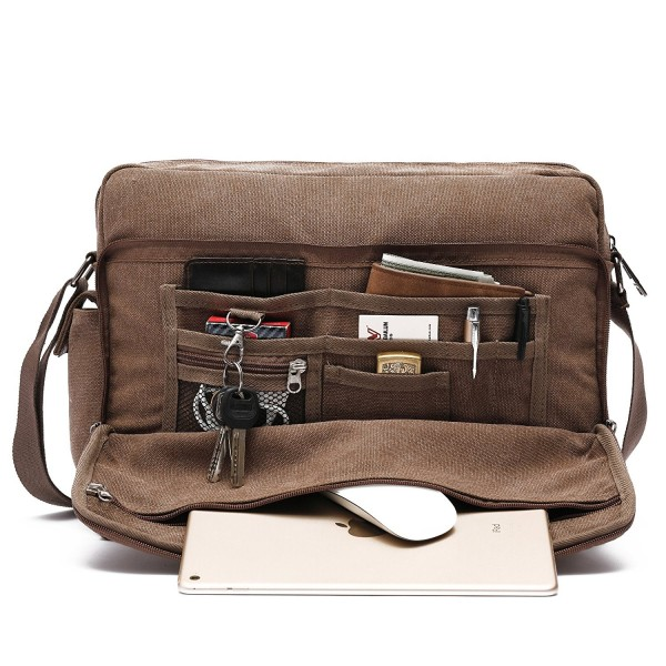Mlife Multi Pockets Canvas Messenger Shoulder