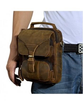 Leaokuu Leather Sling Messenger Shoulder