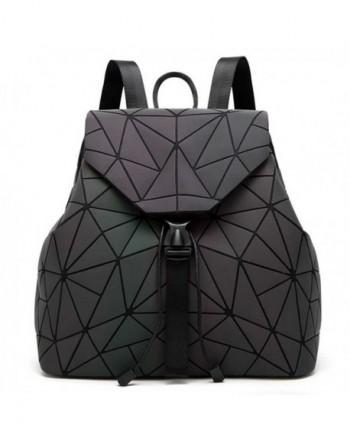 DIOMO Geometric Backpack Luminous Shoulder