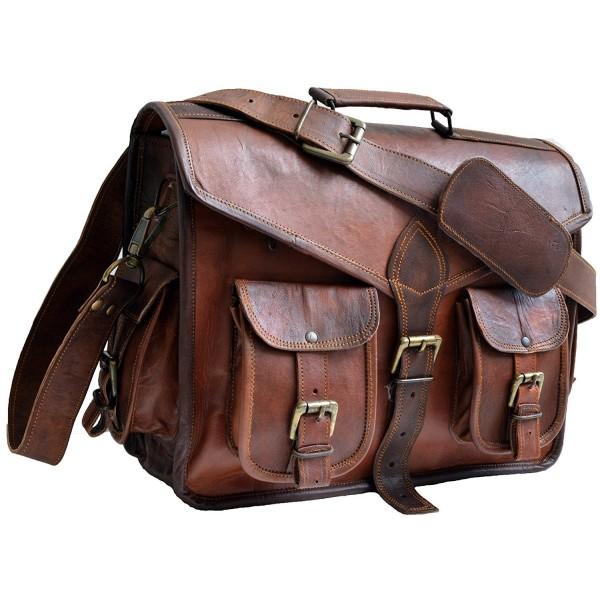 Genuine Leather Messanger Laptop shoulder