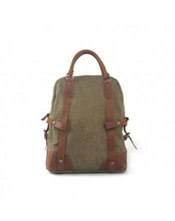 Singco Leather Business Convertible Backpack