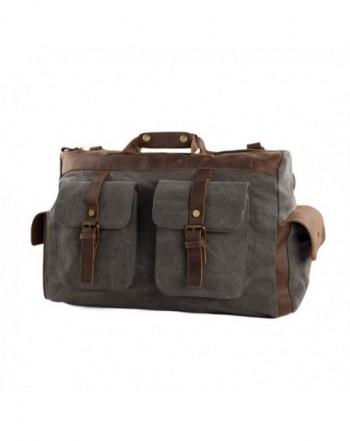 Leather Overnight Duffle Weekend Luggage